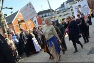 Folketoget i Arendal 17. mai 2015 Foto: Marie Hatlevoll, Agderposten